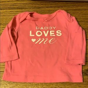 Carter's | Daddy loves me Tee